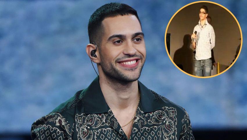 Amarcord Mahmood: quando a 15 anni cantava Lionel Richie