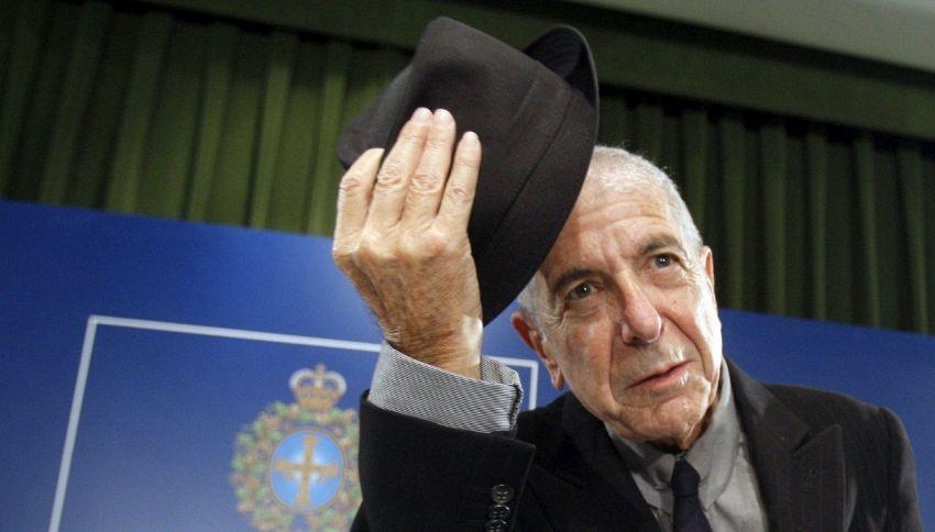 Il messaggio segreto contenuto in una canzone di Leonard Cohen