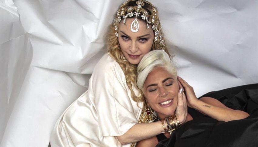 Potere degli Oscar: Lady Gaga e Madonna hanno fatto pace