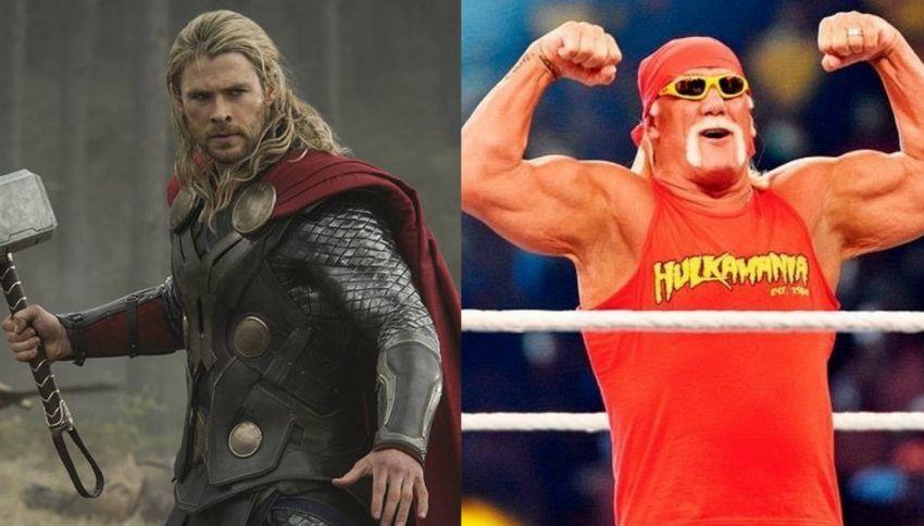Ecco cosa succede se Thor degli Avengers incontra Hulk Hogan