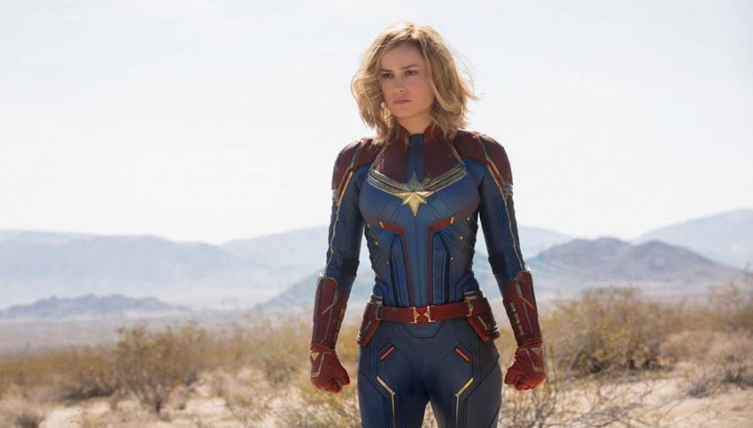 Il finale di Captain Marvel doveva essere diverso