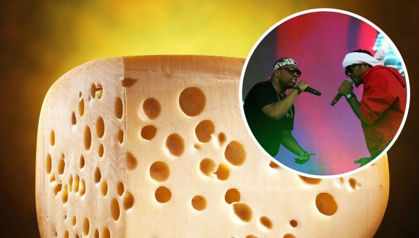 Il formaggio che ascolta la musica rap diventa più buono