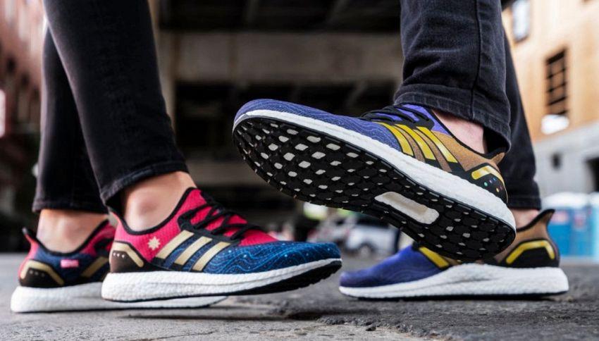 "Adidas dedica una linea di sneakers a ""Avengers: Endgame"""