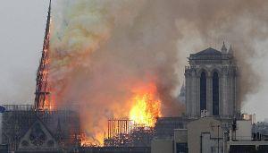 Notre Dame: ecco cosa avrebbe causato il rogo della cattedrale