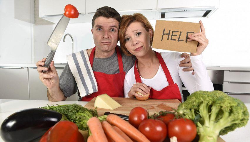 Vuoi davvero dimagrire? Non devi cucinare tu #lodicelascienza