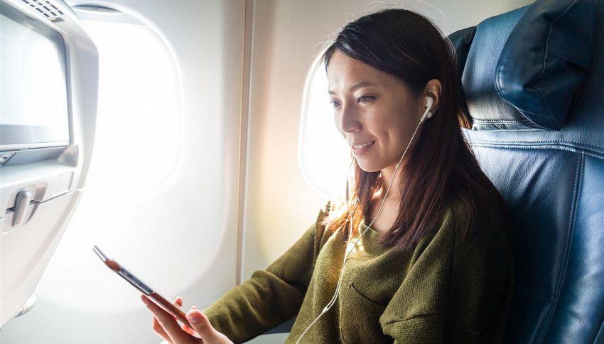 6 cose gratis che non sapevi di poter prendere su un aereo