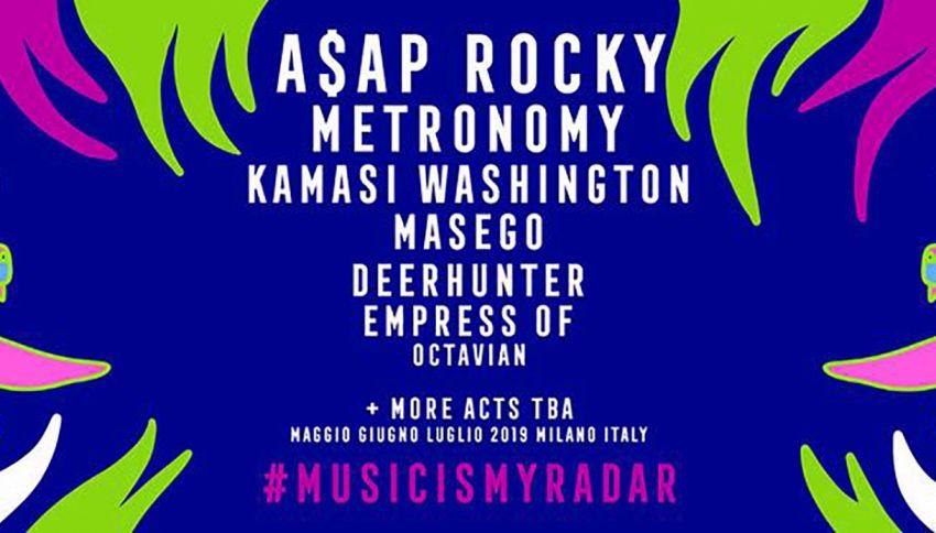 Supereva è partner di #MusicIsMyRadar, l'attesissimo festival