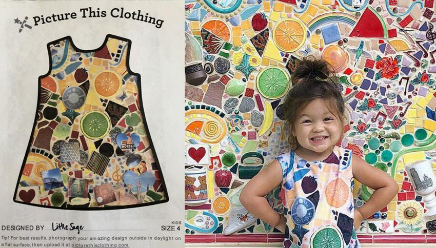 Adesso i bambini possono indossare i propri disegni