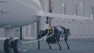 HyQreal, il robot (tutto italiano) in grado di trascinare un aereo