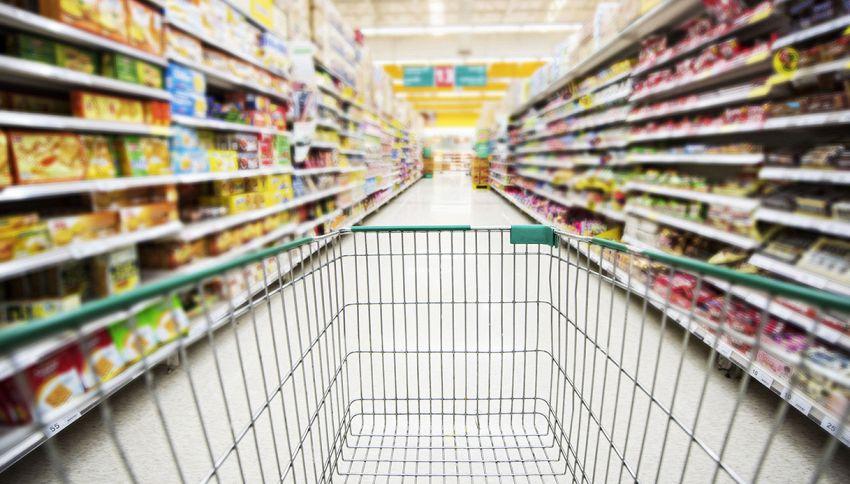 In questo supermercato puoi fare la spesa senza spendere soldi