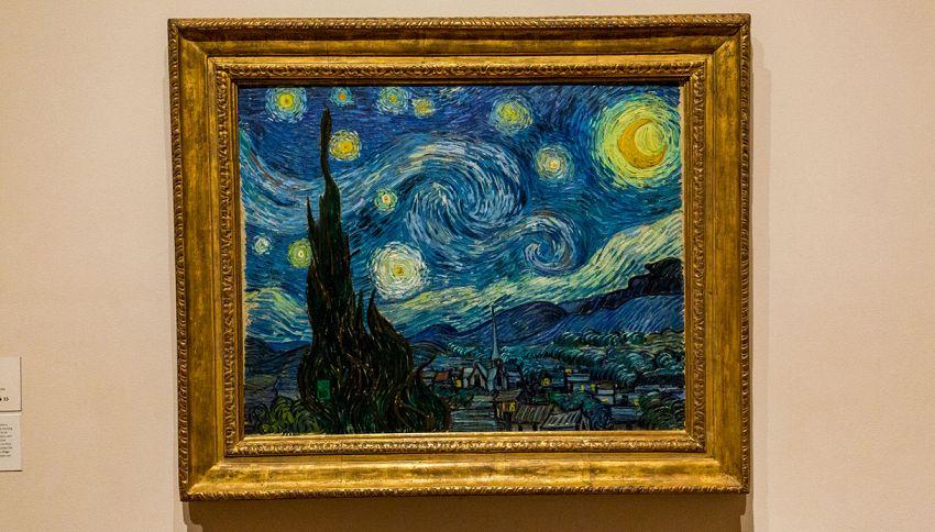 Quadro di Van Gogh diventa reale: l'incredibile effetto del cielo