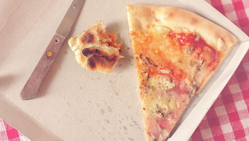 Qui puoi chiedere di mangiare solo il bordo della pizza