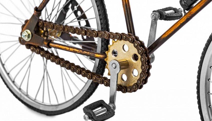 La lavatrice con i pedali: consumi calorie e lavi i panni