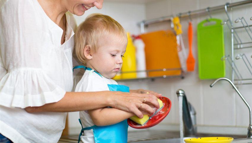 Il futuro di tuo figlio è legato alle pulizie di casa