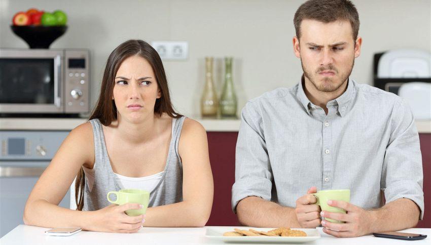 Il tuo matrimonio non funziona? Ecco gli effetti sul corpo