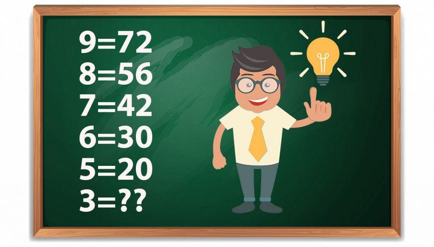 Il 99% delle persone non riesce a risolvere questo quiz. Provaci