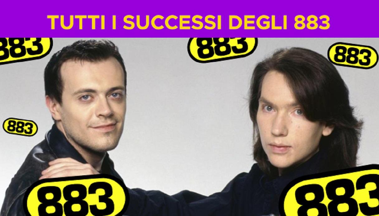 Tutti i successi degli 883