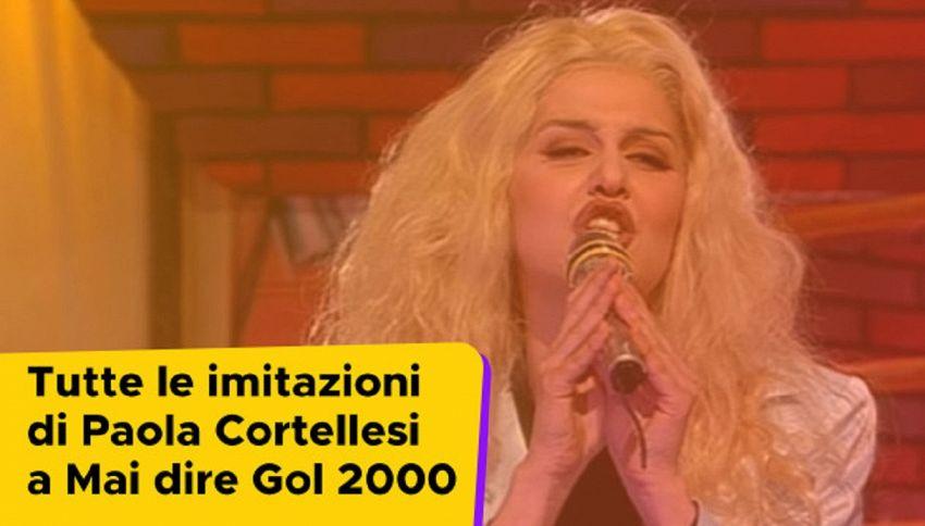 Tutte le imitazioni di Paola Cortellesi a Mai Dire Gol