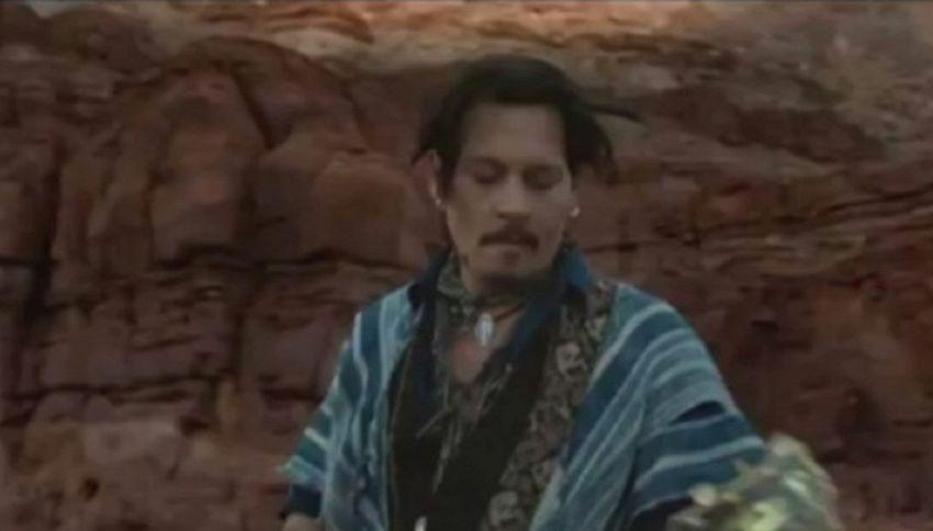 Johnny Depp protagonista di uno spot: sul web è polemica