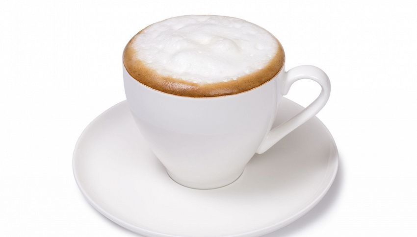 Questo cappuccino non si beve ma si mangia: l'illusione ottica