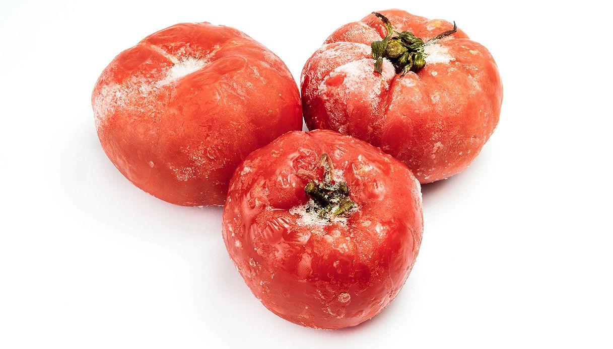 Se congeli i pomodori poi puoi utilizzarli solo in questo modo