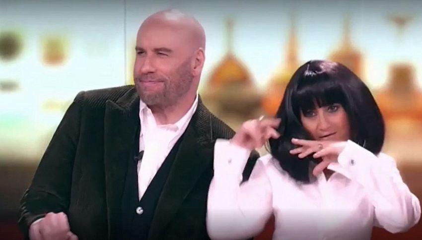 Che Tempo Che Fa, Luciana Littizzetto balla con John Travolta