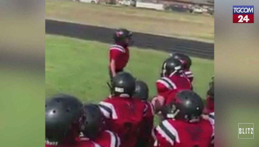 Il discorso pre-partita del bambino di 10 anni diventa virale