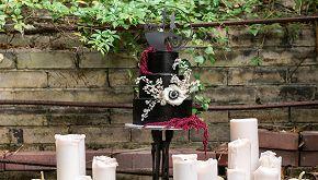 Si sposano in perfetto stile Halloween: guarda le nozze originali