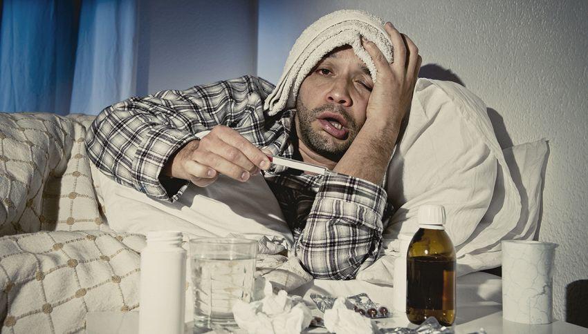 Vuoi evitare di prendere il raffreddore? Cammina per 45 minuti