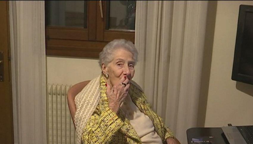 Ottavia, 101 anni e un debole per internet: ecco la nonna social