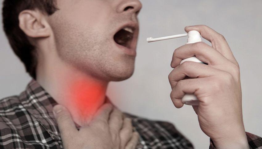 Spray per la gola: come scegliere quello adatto a te