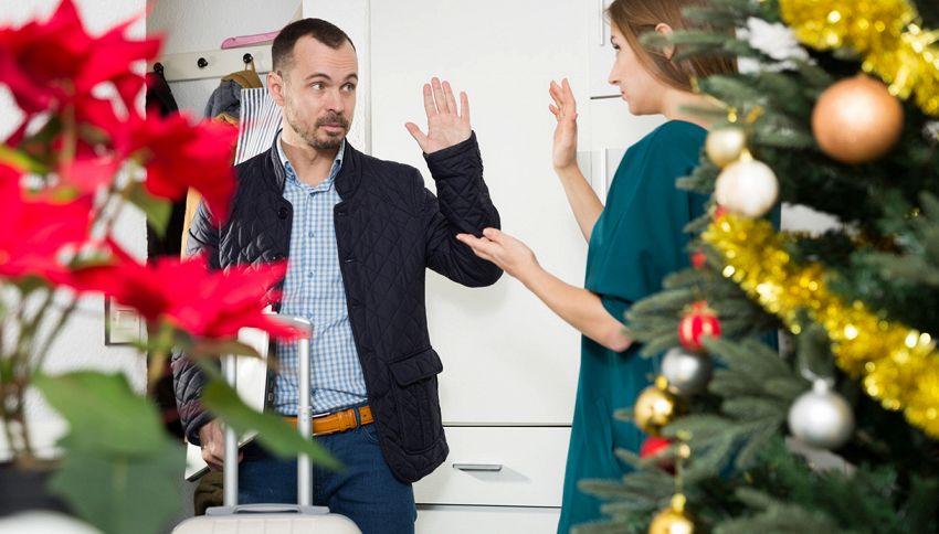 Se ti lascia prima di Natale il motivo non sei tu