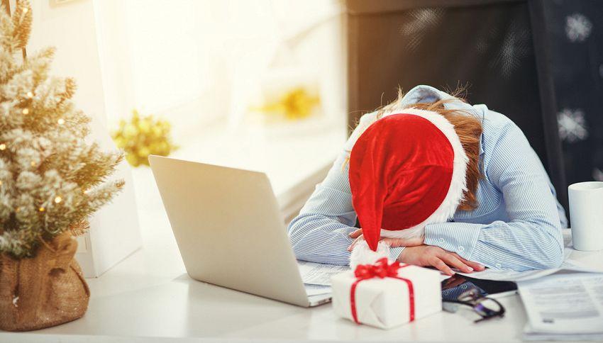 Non pensare ai regali di Natale mentre lavori #lodicelascienza