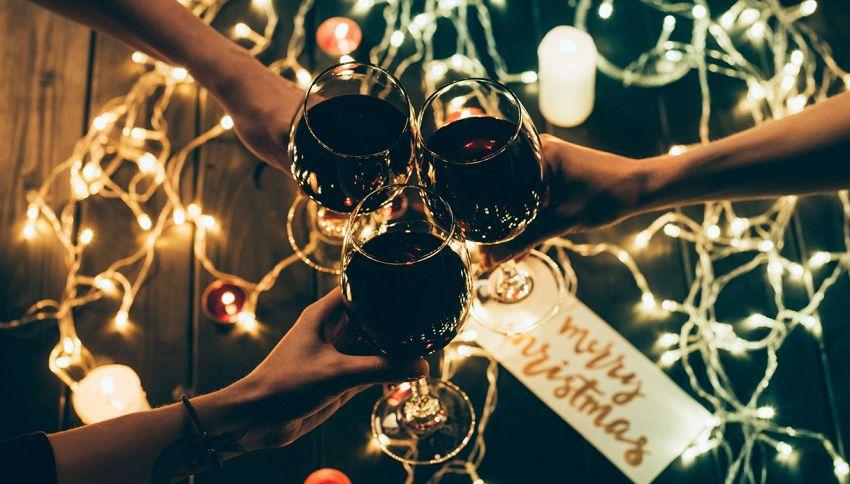 Natale, se bevi questi 2 liquori ti ubriacherai più velocemente