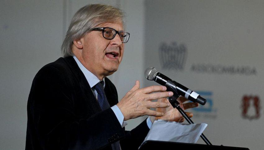 """La Pupa e il Secchione, Sgarbi denuncia: """"Censurato da Mediaset"""""""