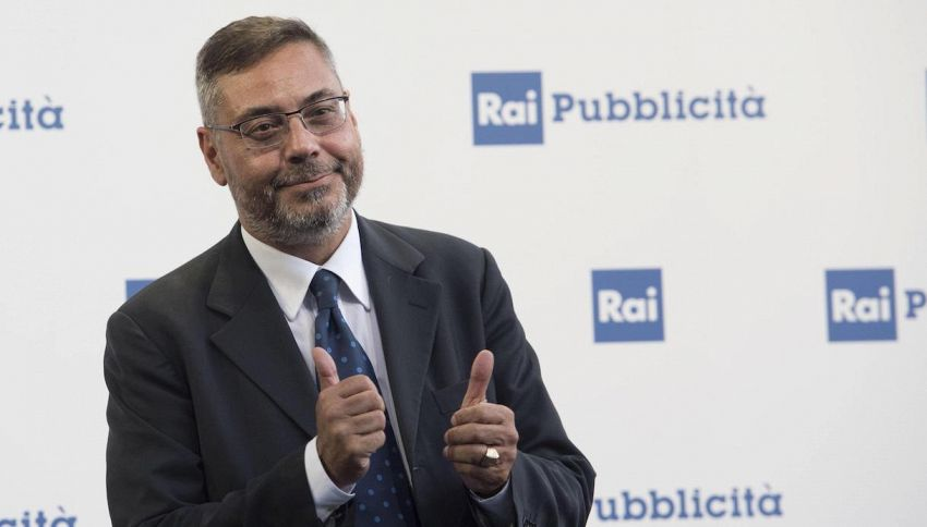 """Andrea Vianello, il ritorno in tv dopo l'ictus: """"Emozionante"""""""