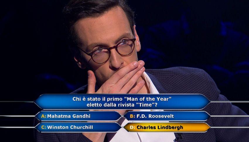 Chi vuol essere milionario?: concorrente a quota 300mila euro
