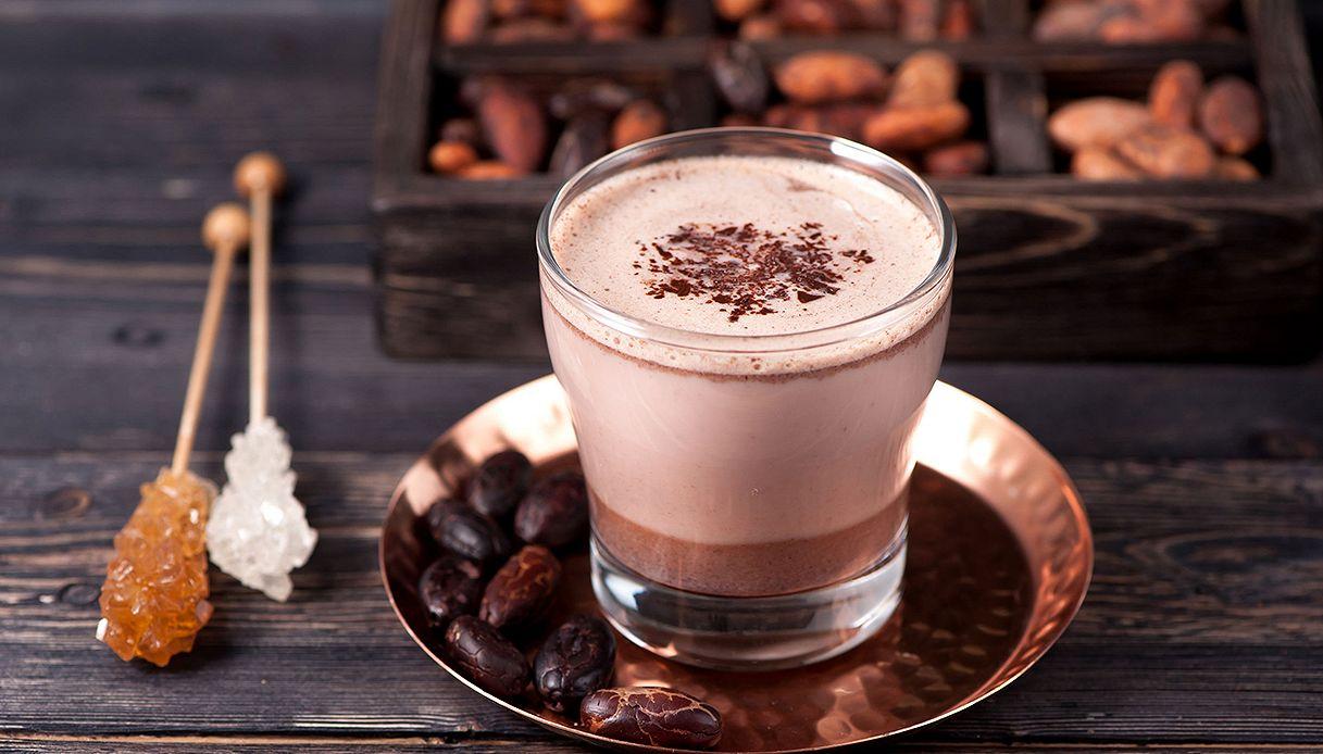 Il cioccolato fa bene più del tè verde? Sì, se è fatto così