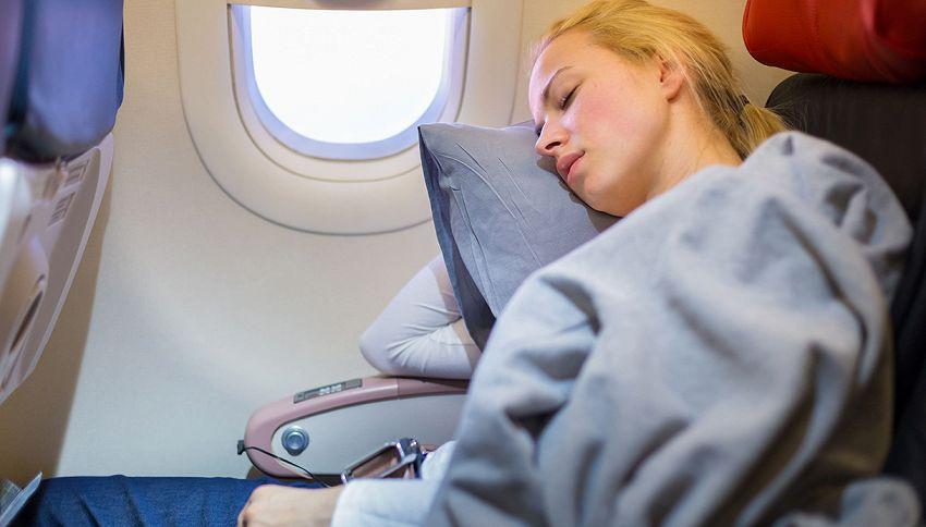 Perché senti sempre freddo quando voli?