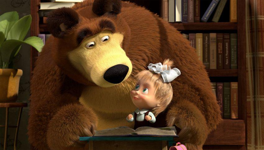 Una puntata speciale di Masha e Orso per i bambini in quarantena