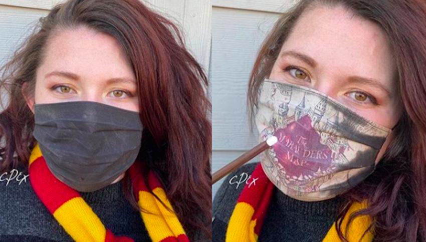Realizza una 'mascherina' magica a tema Harry Potter
