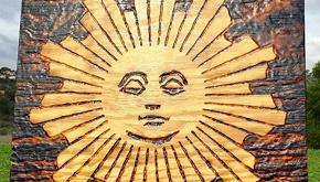 La storia dell'artista che disegna con la luce del sole