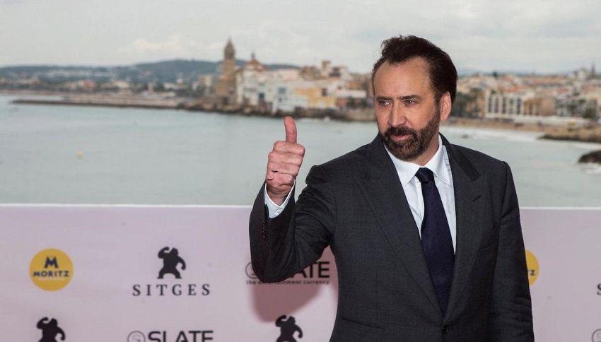 Nicolas Cage è l'attore hollywoodiano che lavora più 'duramente'