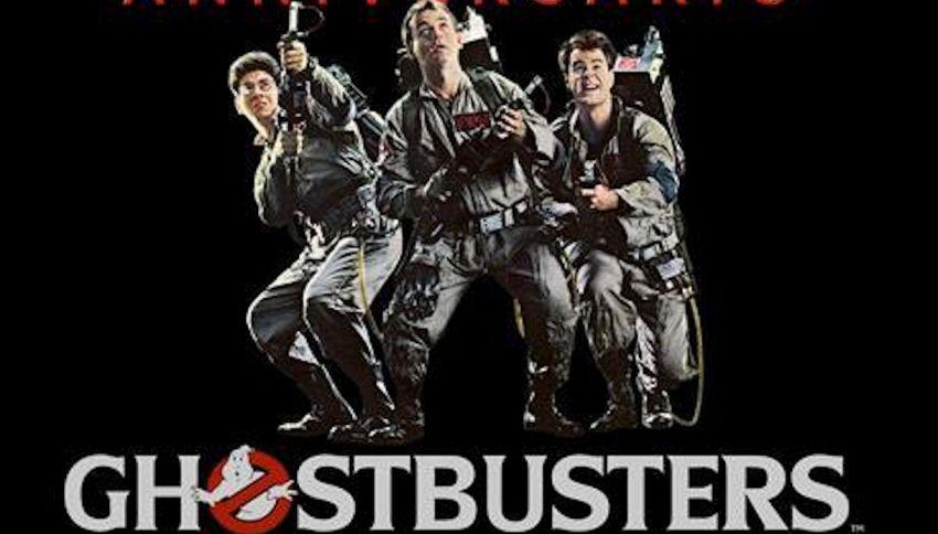 Reunion del cast di 'Ghostbusters' 36 anni dopo l'uscita del film