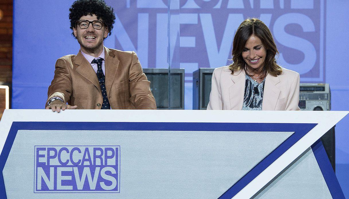 EPCC, Cristina Parodi torna a leggere le notizie del telegiornale