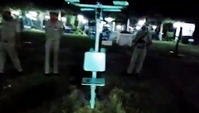 Un fantasma al parco: l'attrezzatura da palestra si muove da sola