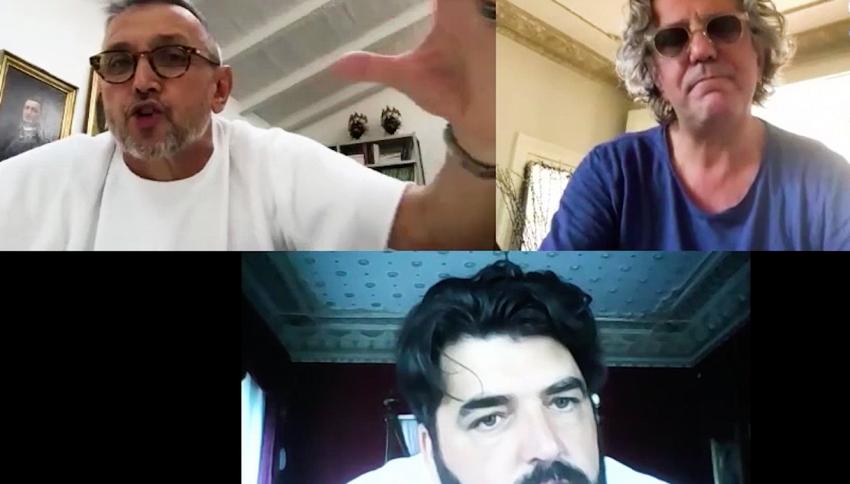 'MasterChef Italia' riparte: la videochiamata tra i tre giudici