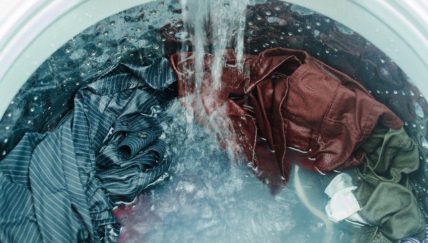 Bucato igienizzato, la giusta temperatura dell'acqua in lavatrice