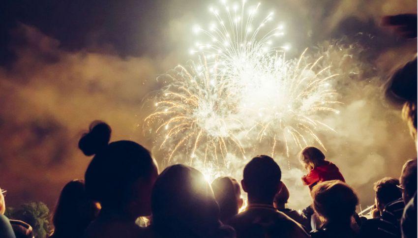 Vai a guardare i fuochi d'artificio? Attenzione al vento
