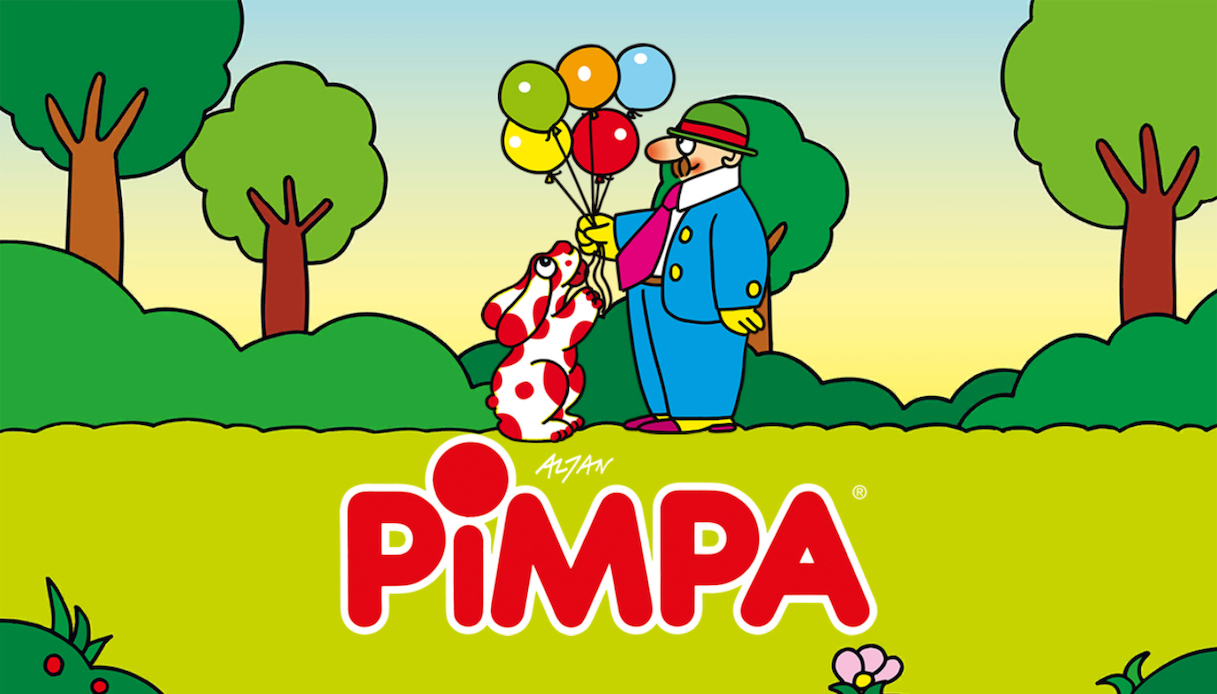 La Pimpa, dai cartoni animati a una App per bambini con autismo